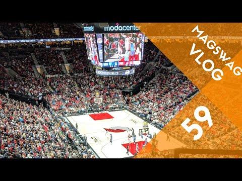 MagSwag Vlog 59 | Portland Trailblazer Game