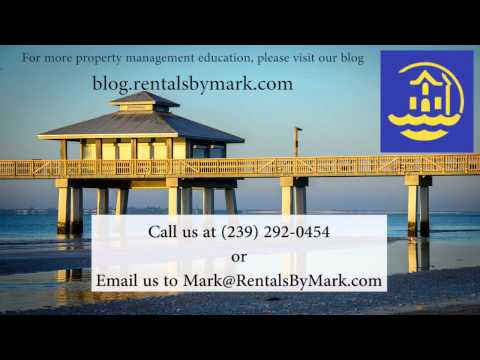 Ft Myers Property Management and Maintenance How to Pick The Best Vendors
