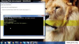 Core Java Tutorial 04 - Running First Java program without Eclipse IDE - HelloWorld Java Program