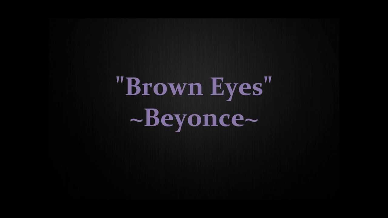 Brown eyes (album version) (full song) destiny's child.