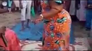 Hausa woman dancing great