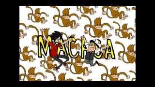 2ois hoje eu vou dormir com a macaca lyric video animation
