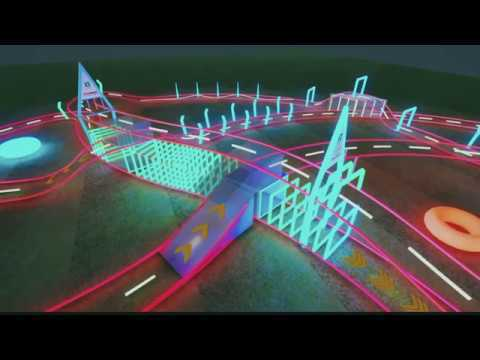 The incredible racetrack of the 2019 FAI World Drone Racing Championship Grand Final