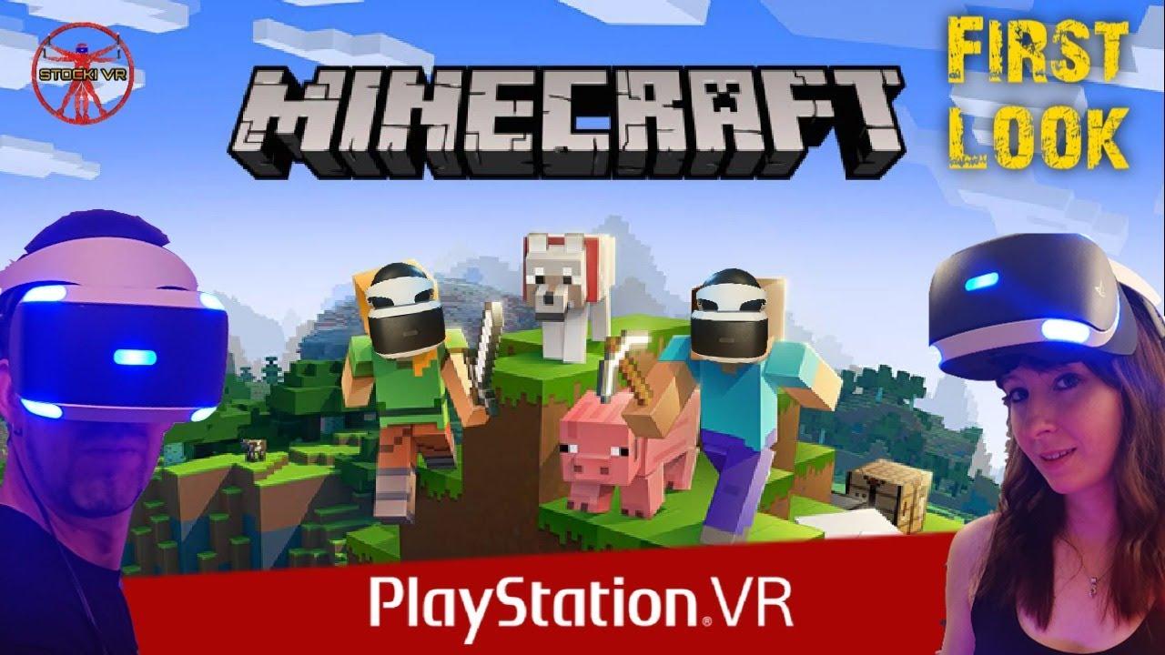 NOW LIVE !!! Die Welt erkunden // Minecraft VR // PSVR Update // Deutsch -  LIVE -
