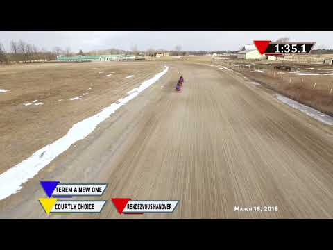 COURTLY CHOICE, RENDEZVOUS HANOVER, TEREM A NEW ONE, , - BLAKE MACINTOSH STABLE, DRONE - 3/16/18