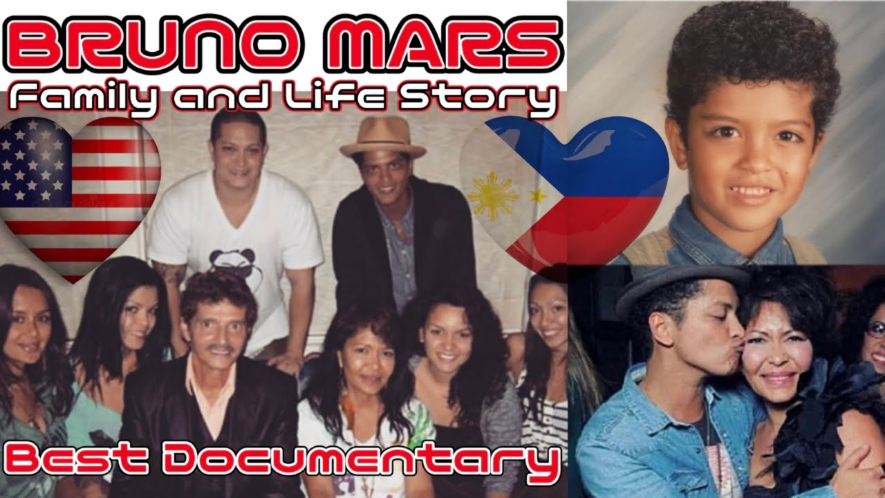 Download Bruno Mars and Family in The Philippines - Happy and Proud Filipino! #BrunoMars2021