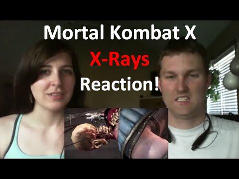 Mortal Kombat X: All X-Rays reaction!