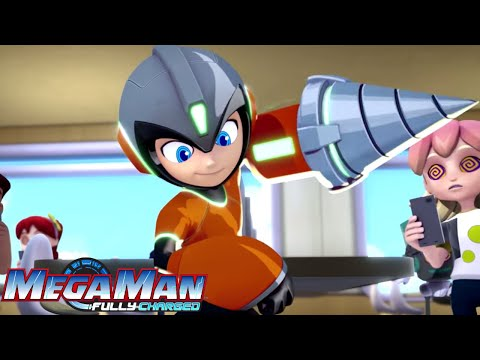 Mega Man: Fully Charged  Episode 4  drone  NEW Episode Trailer