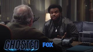 Merv Gives Leroy An Assignment To Find The Snitch | Season 1 Ep. 13 | GHOSTED