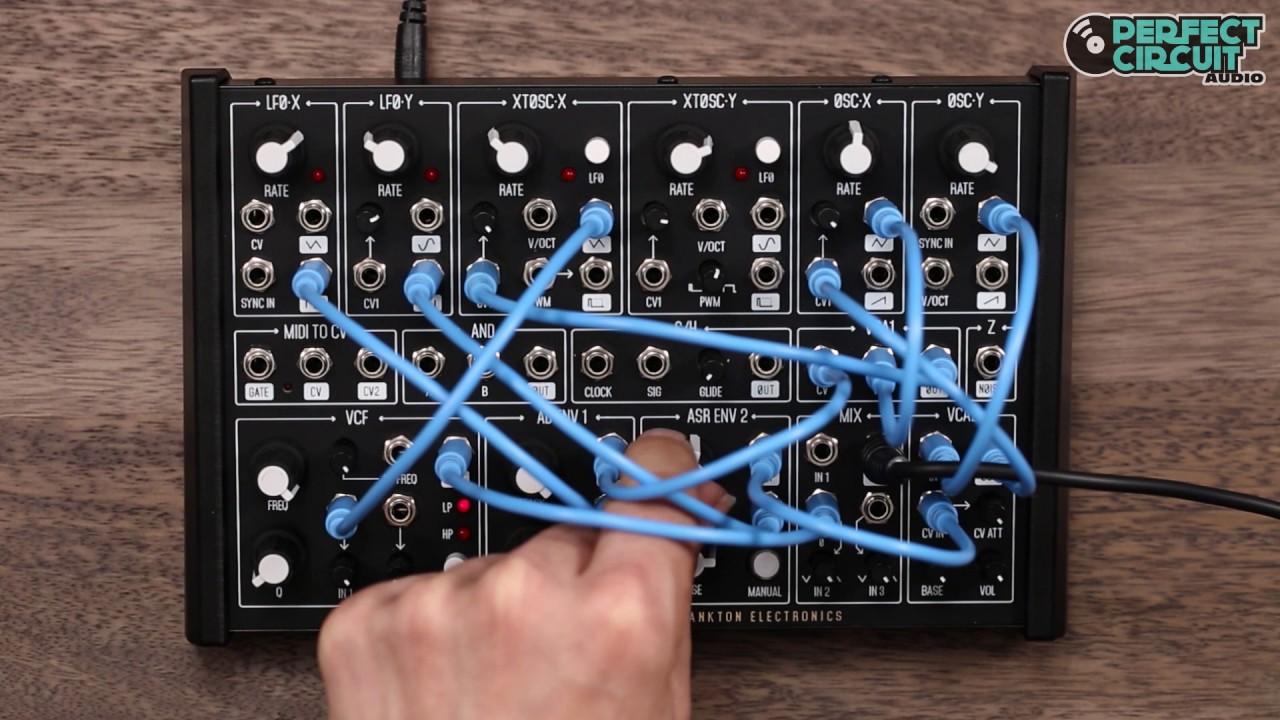 plankton electronics ants mini modular synthesizer youtube. Black Bedroom Furniture Sets. Home Design Ideas