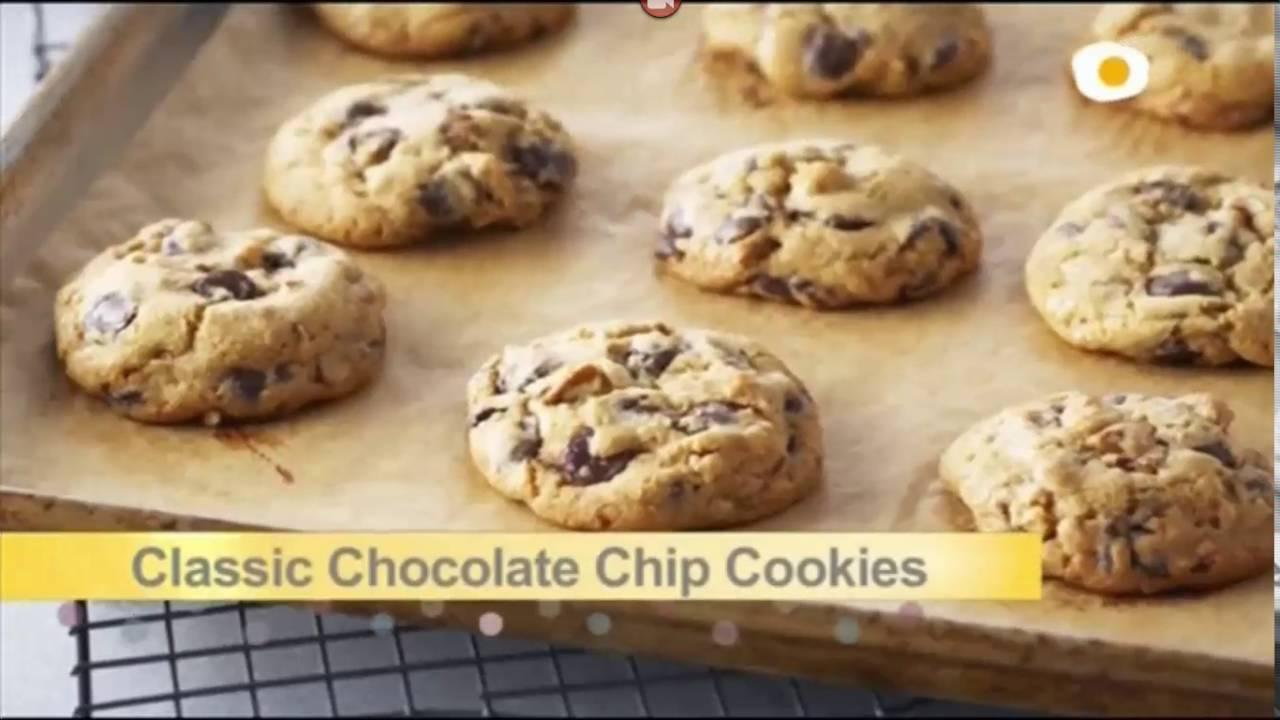 Galletas con pepitas de chocolate ANNA OLSON - YouTube