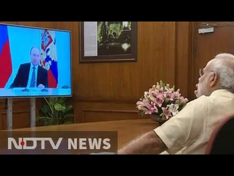 PM Narendra Modi, Vladimir Putin interact via video-con for Kudankulam event