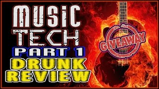 Music Tech 2017 w/ GIVEAWAY PART 1 - Drunk Tech Review: pedals, synths, guitars, effects