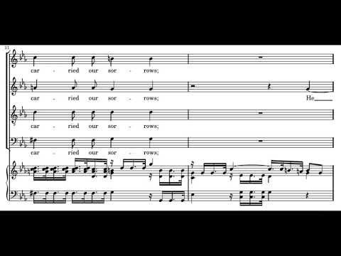 Händel: Messiah - 26a. Surely He hath borne our griefs - Gar