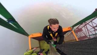 Bungee Jumping Kraków skok z kamerką na wysięgniku