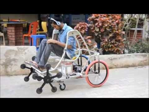 BE Mechanical Engineering Final Year Project - Smart Wheelchair
