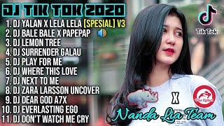 Download Lagu Dj Tik Tok Terbaru 2020 | Dj Yalan x Lela Lela Layn Full Album Remix 2020 Full Bass Viral Enak mp3