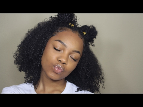 Perfected Dry Wash n Go on Stretched Hair | Natural Hair
