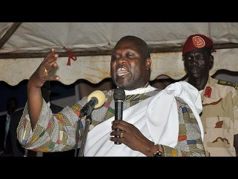 South Sudan rebel leader Riek Macha sworn in as vice-president