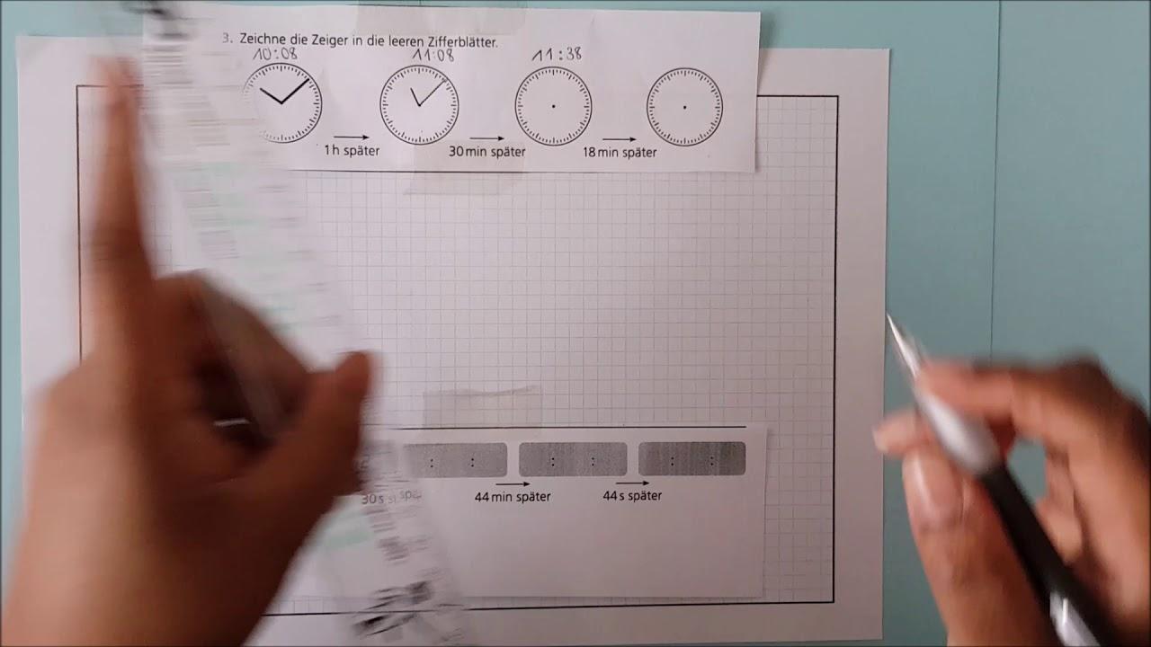 4 klasse zeit uhrzeit berechnen youtube. Black Bedroom Furniture Sets. Home Design Ideas