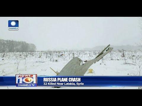 Russian Plane Crash In Syria Kills 32 Pt.4 |News@10| 06/03/18