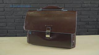 Кожаный портфель Piquadro CA3111B2 - Обзор