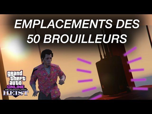 [GUIDE] Emplacements des 50 brouilleurs - GTA Online