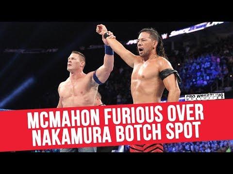 Vince McMahon Reportedly Furious Over Nakamura Botch Spot