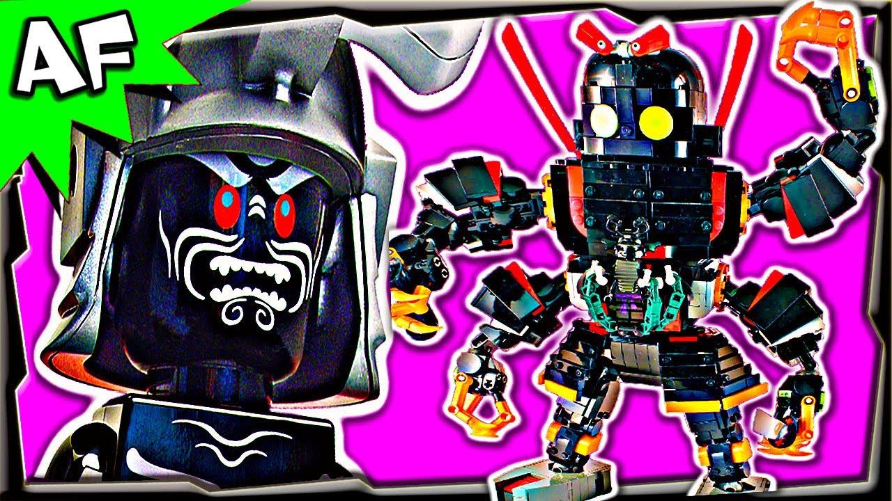 Godzilla Garmadon Mech Custom Lego Ninjago 70504 70505 70725 70726