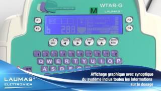 WTABG -- Indicateurs de pesage de table en ABS avec afficheur graphique LCD -- LAUMAS