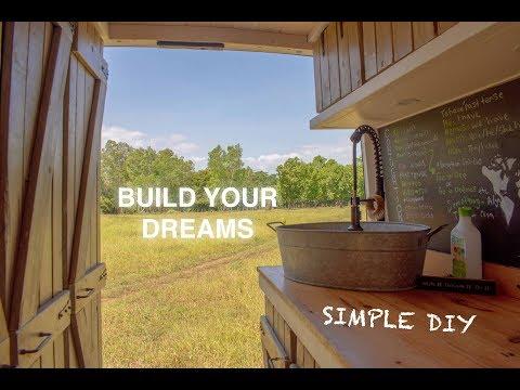 DIY SINK From Galvanized Tub | Beautiful, Cheap & Easy | VAN LIFE