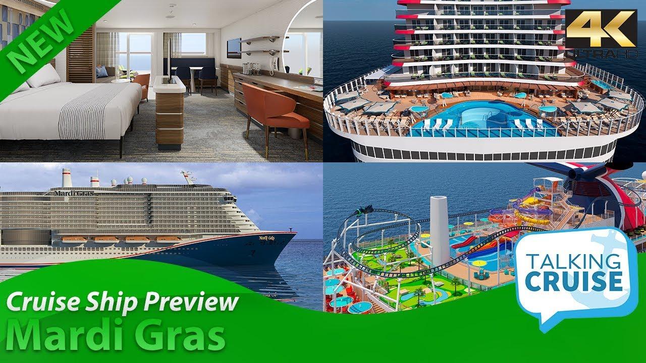 Mardi Gras Carnival Mega Cruise Ship Preview 2020 Youtube
