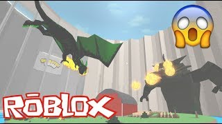 ROBLOX - Survive In Kraken And Dragon - DISASTER DOME