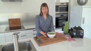 Cream Of Green Pea Soup With Fresh Mint