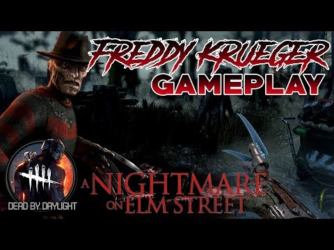 Freddy Krueger Gameplay | No Commentary | Merciless Killer | Dead by Daylight