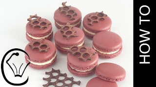 Foolproof Easy French Macarons with Fig Honey and Cream Cheese Buttercream
