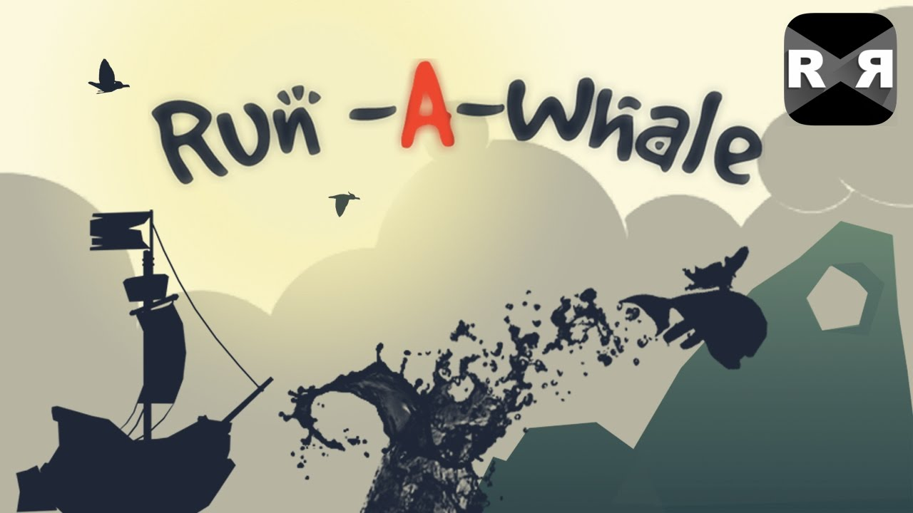 Beautiful Indie Game: Run-A-Whale - iOS / Android Gameplay