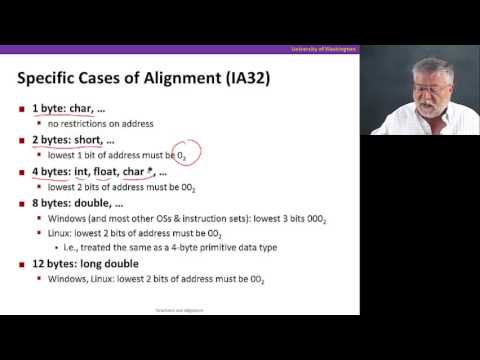 Arrays & Structs, Video 5: Structs And Alignment