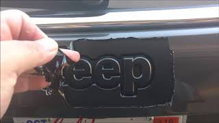 2017 Jeep Compass MP Plasti Dip Emblems