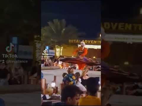 Dubai Desert Camp Night Dance #ytshorts #shorts