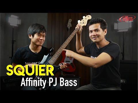 Squier Affinity PJ Bass l เบสราคาถูกเล่นได้ทุกแนว