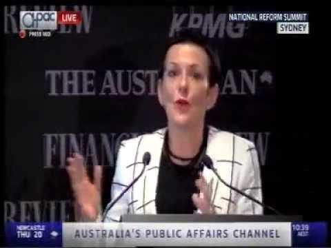 Kate Carnell | Australian Chamber CEO | National Reform Summit Speech, 26 August 2015