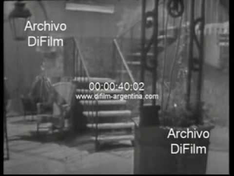 """DiFilm - Susy Leiva canta """"El patio de la morocha"""" 1964"""