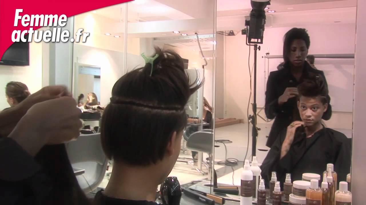 J 39 ose le carr graphique gr ce au tissage coiffure youtube - Salon de coiffure afro ouvert le dimanche ...