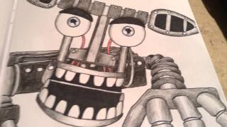 All my FNaF Drawings Part 4