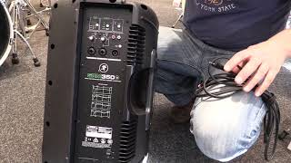 Mackie SRM350 V3 Powered Speaker Hire - Nottingham 0115 8414148