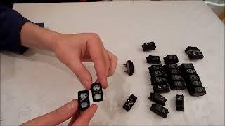 вытертые символы на кнопках подогрева сидений мерседес 124. как решить проблему и улучшить вид.