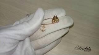 Обзор серебряной булавки Artefakt Jewelry арт 739