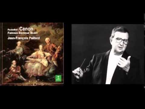 Jean-François Paillard-Pachelbel : Canon & Gigue i