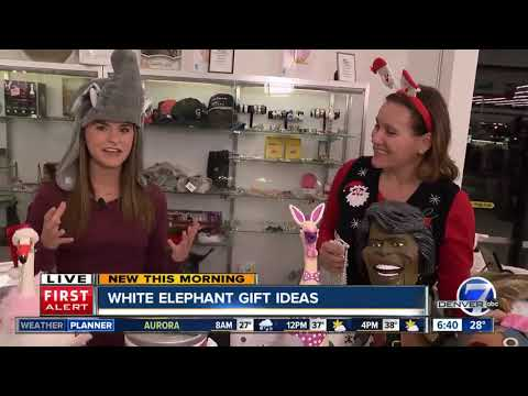 White elephant gift ideas for holiday parties